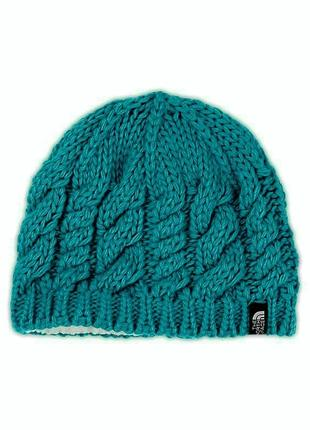 Шерстяная шапка the north face cable fish bean unisex