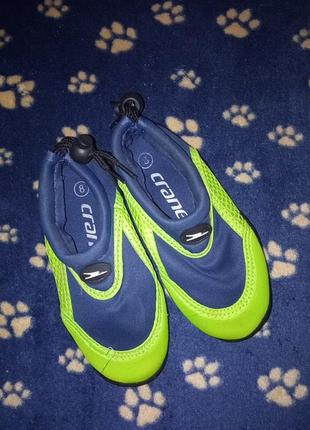 Аквашузы обувь для воды тапки