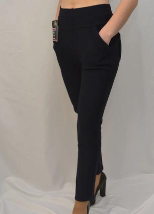 Женские зимние брюки с начесом в больших размерах 2xl - 7xl