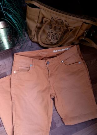 Горчичные штаны marc o  polo