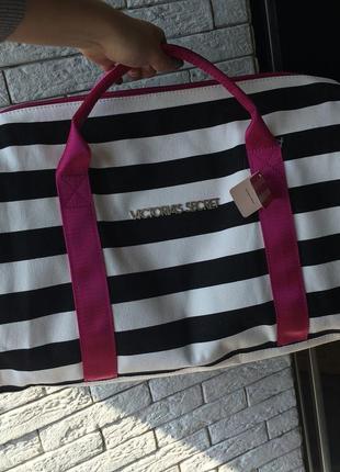 Пляжно-спортивная сумка victoria's secret