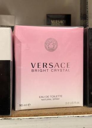 Женские духи на подарочек versace bright crystal новые 90 мл4 фото