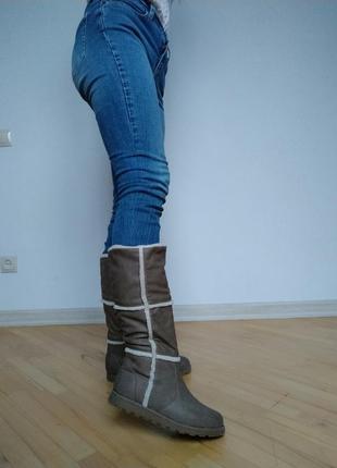 Стильні довгі чобітки