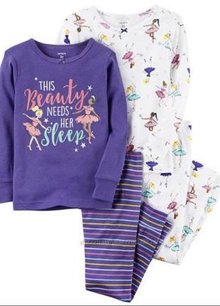 Пижама картерс 4т балерини