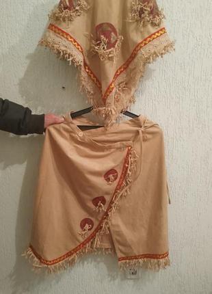 Карнавальный костюм моана или индеец