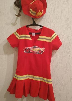 Карнавальный костюм пожарной( или тачки)