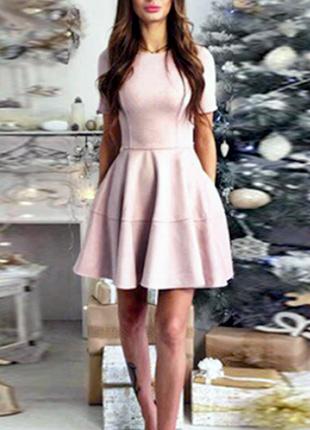 Платье из искусственного замша. новое!
