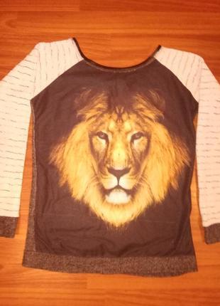 Свитшот со львом