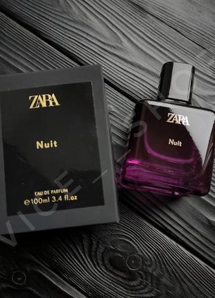 Zara nuit духи парфюмерия туалетная вода оригинал испания