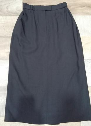Стильная шерстяная юбка marella italy