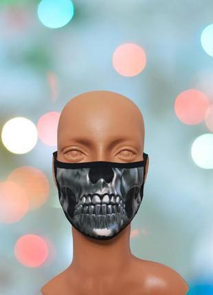 Креативная маска для лица с 3d принтом
