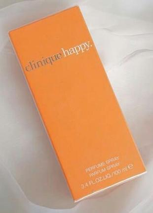 Clinique happy  100 мл женский парфюм