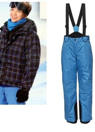 Зимний костюм для лыж и сноуборда на мальчика и подростков 146-152
