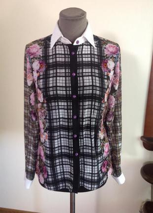 Красивая нарядная блузка. бохо. этно. цветочный принт