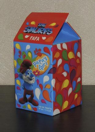 The smurfs papa 50 мл туалетная вода для детей