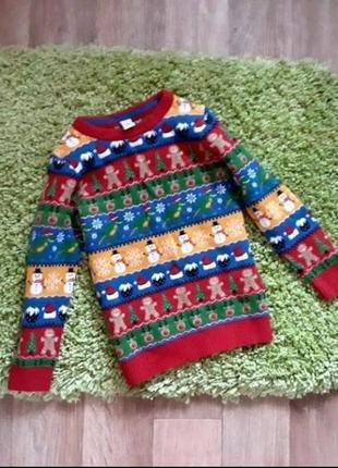 Новогодний свитер tu