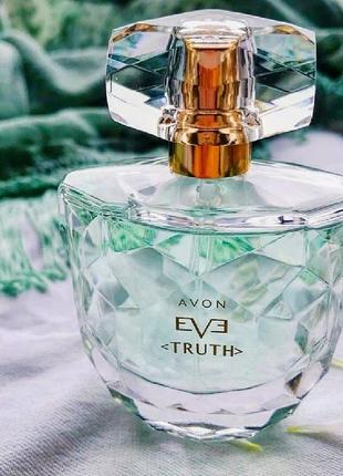 Женская парфюмерная вода avon eve truth 50 ml