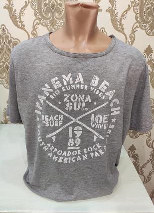 Angelo litrico мужская серая футболка