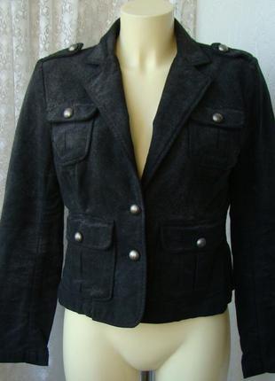 Куртка женская жакет хлопок джинс бренд cherokee р.46 №3654а