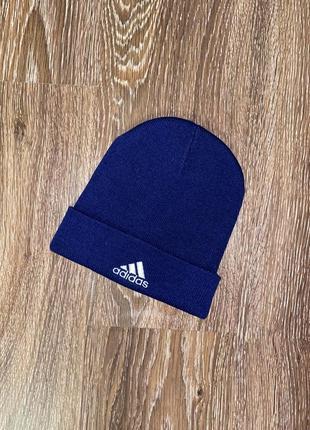 Мужская зимняя шапка adidas vintage оригинал