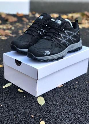 Топовые мужские спортивные кроссовки кеды чёрные очень тёплые the north face