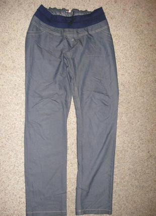 Летние тонкие джинсики для беременных