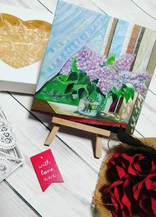 Картина маслом на подарок