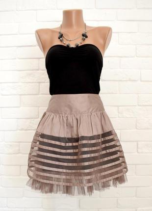 Модная пышная юбка atmosphere uk10 в идеальном состоянии