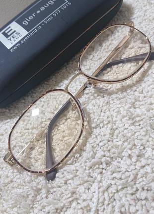 Позолоченая оправа очки из германии.