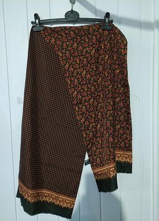 💯 шелковий двойной двухсторонний мужской шарф