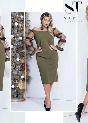 Роскошное вечернее платье, размер 50-52