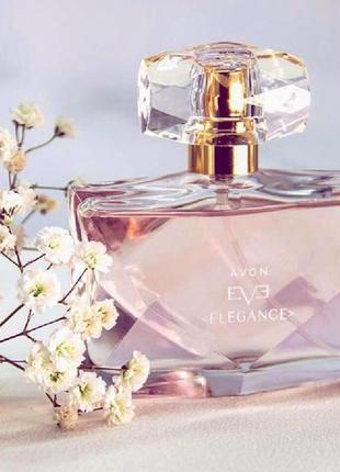 Женская парфюмерная вода avon eve elegance 50 мл элеганс