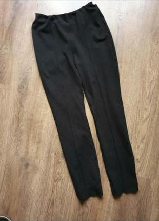 Плотные лосины леггинсы, трикотажные брюки размер с
