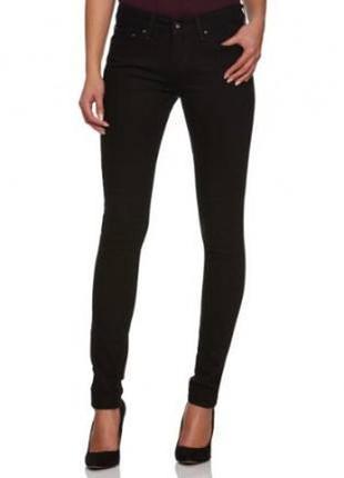 Женские черные джинсы levis legging 29w/32l