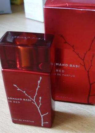 Armand basi in red eau de parfum, 100 мл