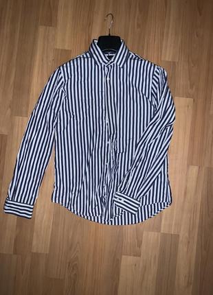 Рубашка zara man в идеальном состоянии