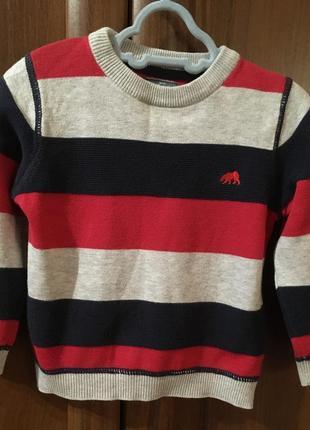 Джемпер свитер кофточка на 18-24 месяца рост 92 см