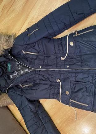Зимняя куртка-парка.