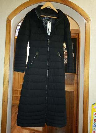 Шикарное пальто пуховик xs, s, m  cappotto coat италия оригинал