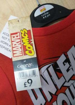 Пижама для супергероя 4-5 лет