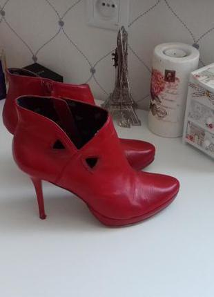 Красные черевички