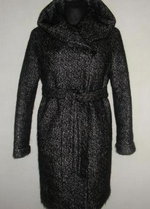 Пальто-букле  зимнее шерстяное