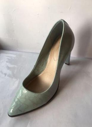 Clarks azizi poppy новые кожаные туфли размер 37, 38, 38. 5, 39, 40, 41