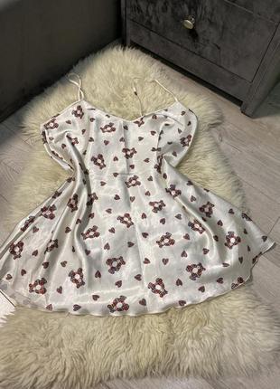 J.luba lingerie-белье ночнушка пеньюар в принт «мишки-медведки)
