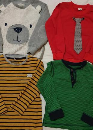 Набор кофточек на мальчика 3-4 года