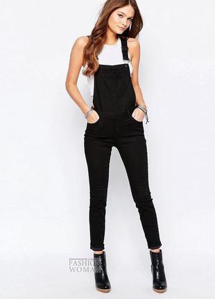 Крутой джинсовый комбинезон штанами  +подарок