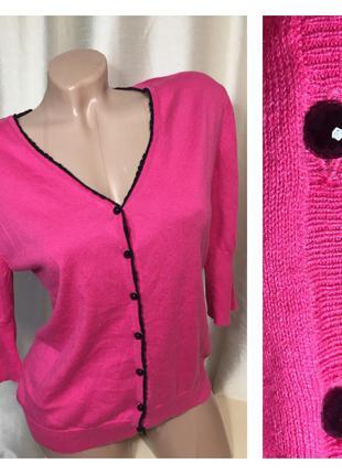 Мягусенькая кофта блузка из 30% натурального шелка и 70% хлопка