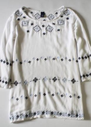 Блуза с вышивкой gap