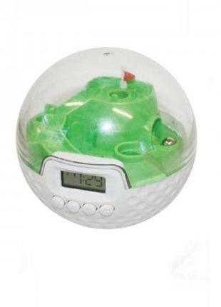 Оригинальные часы будильник гольф поле для гольфа