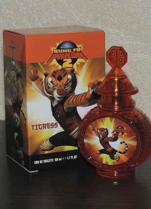 Kung fu panda 2 tigress 50 мл туалетная вода для детей